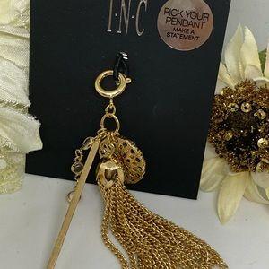 INC International Concepts Jewelry - INC Gold Tassel Charm [JW-106]